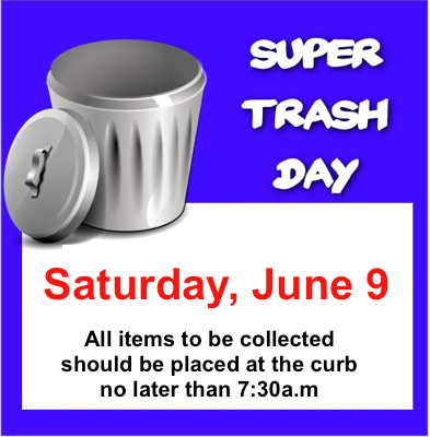 Super Trash Day
